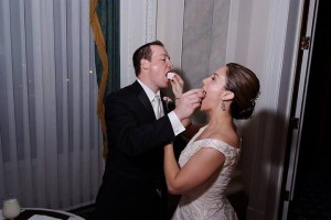 Let them eat wedding cake!!!